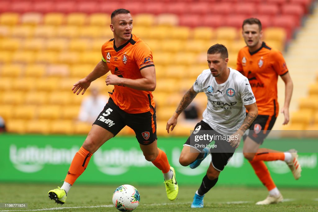 A-League Rd 14 - Brisbane v Melbourne City : News Photo