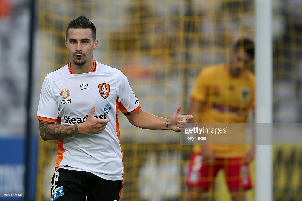 A-League Rd 11 - Central Coast v Brisbane