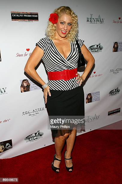 Jamie McCall arrives at Christina DeRosa's New Cabaret Show held at the Camden House on July 31, 2009 in Beverly Hills, California.