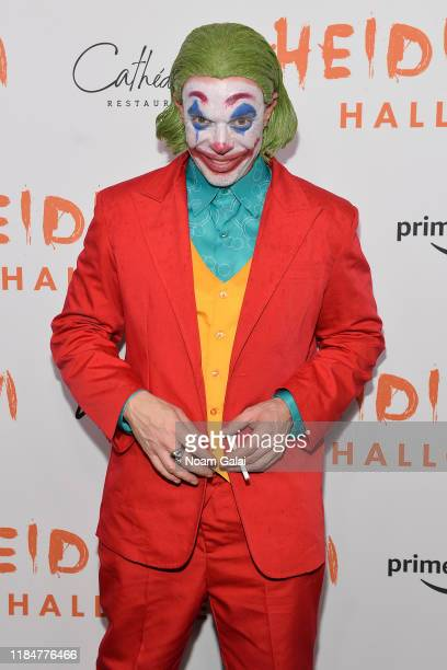 Jamie McCarthy attends Heidi Klum's 20th Annual Halloween Party presented by Amazon Prime Video and SVEDKA Vodka at Cathédrale New York on October 31...