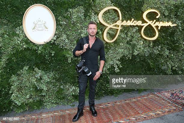Jamie McCarthy photographer for Jessica Simpson attends the Spring 2016 Jessica Simpson Collection Presentation for New York Fashion Week at Tavern...