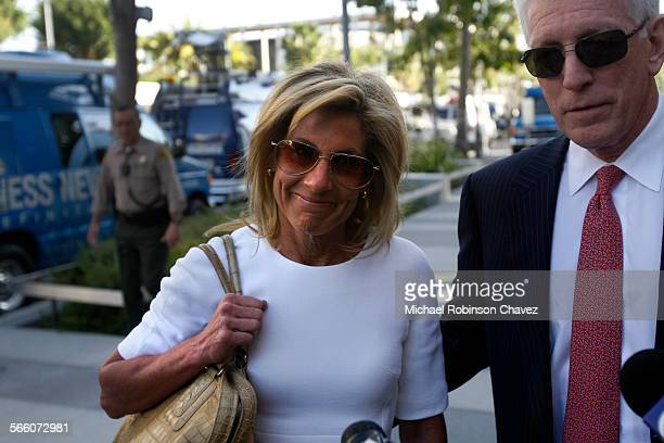 Jamie McCourt accompanied by her attorney Dennis Wasser appeared in Los Angeles County Court on Monday morning for a spousal support hearing Jamie...
