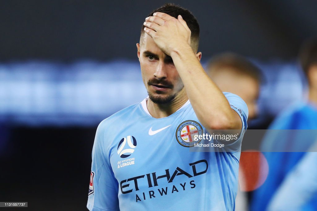 A-League Rd 20 - Melbourne Victory v Melbourne City : News Photo