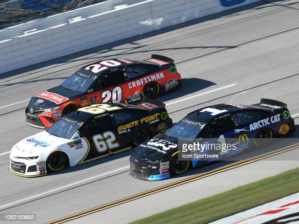 Jamie McMurray Chip Ganassi Racing Chevrolet Camaro Cessna Brendan Gaughan Beard Motorsports Chevrolet Camaro Beard Oil Distributing / South Point...