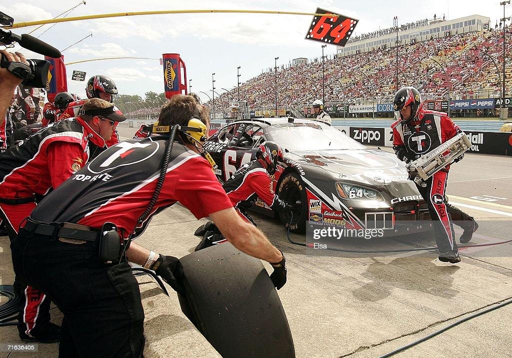 Busch Series Zippo 200 : ニュース写真