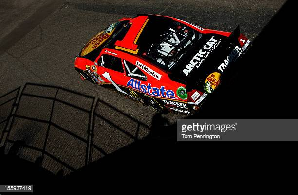 Jamie McMurray drives the Bass Pro Shops/Allstate Chevrolet during practice for the NASCAR Sprint Cup Series AdvoCare 500 at Phoenix International...