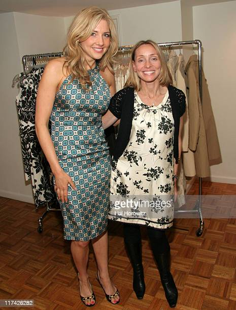 Jamie Mikkelson and Ginny Hilfiger during Joyce Varvatos and Bethenny Frankel Host a Party for Ginny H Collection by Ginny Hilfiger December 18 2006...