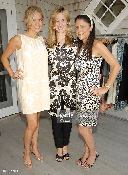 Jamie Mikkelson Cindi Cook and Bethenny Frankel during Ginny H by Ginny Hilfiger Viewing of Premiere Collections Hosted by Kelly Killoren Bensimon...