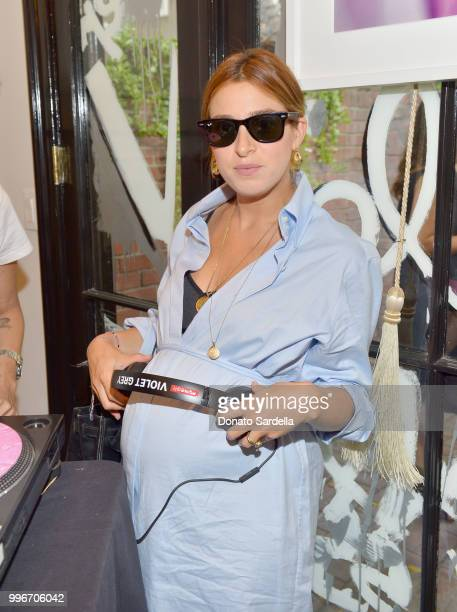 Jamie Mizrahi attends Beats by Dre for VIOLET GREY Party on July 11 2018 in Los Angeles California