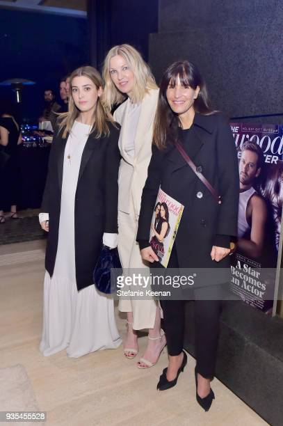 Jamie Mizrahi Brooke Wall and Amy Sabel attend The Hollywood Reporter and Jimmy Choo Power Stylists Dinner on March 20 2018 in Los Angeles California