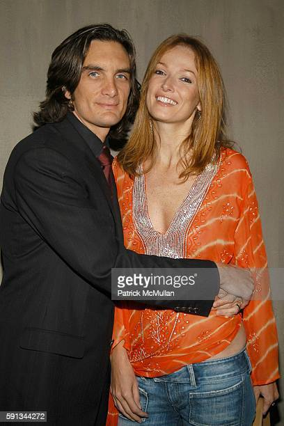 Jamie Mulholland and JoJo Mulholland attend The Heart Truth Red Dress Collection After Party Hosted by Jamie Mulholland at Cain on February 4 2005 in...