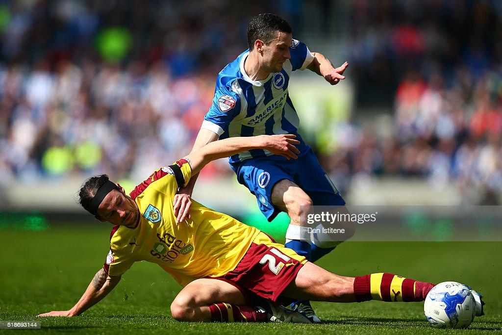 Brighton & Hove Albion v Burnley - Sky Bet Championship