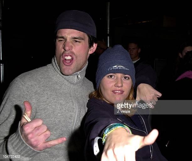 Jamie Murray and Julie Stoffer during The Real World Reunion Tour at Beacon Theatre in New York City New York United States