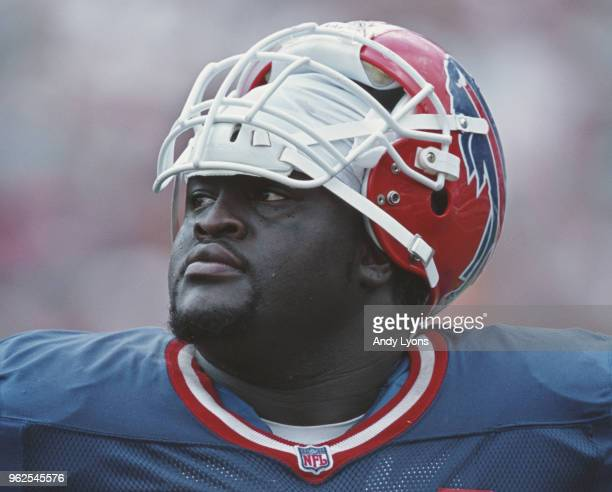 Jamie Nails Guard for the Buffalo Bills during the American Football Conference East game against the Miami Dolphins on 8 October 2000 at Pro Player...