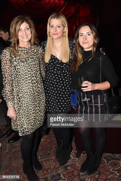 """Jamie Nelson, Samantha Perelman and Nicole Martin at The Cinema Society & Bluemercury host the after party for IFC Films' """"Freak Show"""" at Public Arts..."""