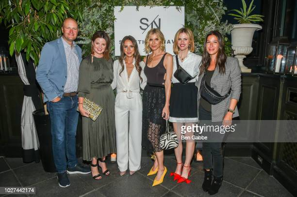 Jamie Nordstrom Tricia Smith Arielle Charnas Whitney Casey Brooklyn Decker and Rebecca Minkoff attend Nordstrom's SOMETHING NAVY Brand Launch Dinner...
