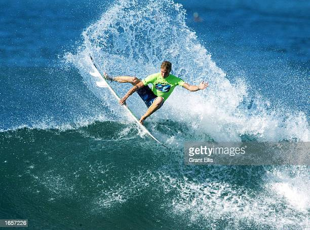 Jamie OBrien of Hawaii won the best aerial and most futuristic manoeuvres during the Davidoff Cool Water Expression Session at Haleiwa on November 22...