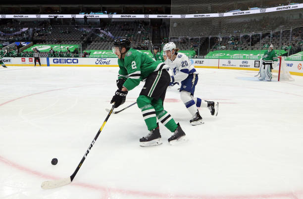 TX: Tampa Bay Lightning v Dallas Stars