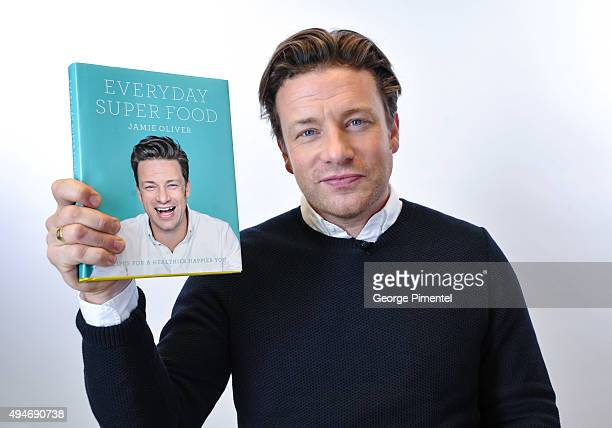 Jamie Oliver attends the Indigo exclusive private screening of his new Food Network Canada show Jamie's Super Food and brand new cookbook Everyday...