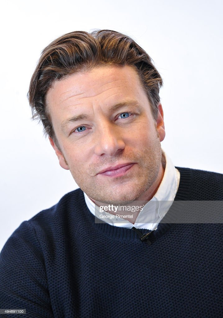 Jamie Oliver attends the Indigo exclusive: private screening of his new Food Network Canada show, Jamie's Super Food and brand new cookbook Everyday Super Food at Cineplex Odeon Varsity and VIP Cinemas on October 28, 2015 in Toronto, Canada.