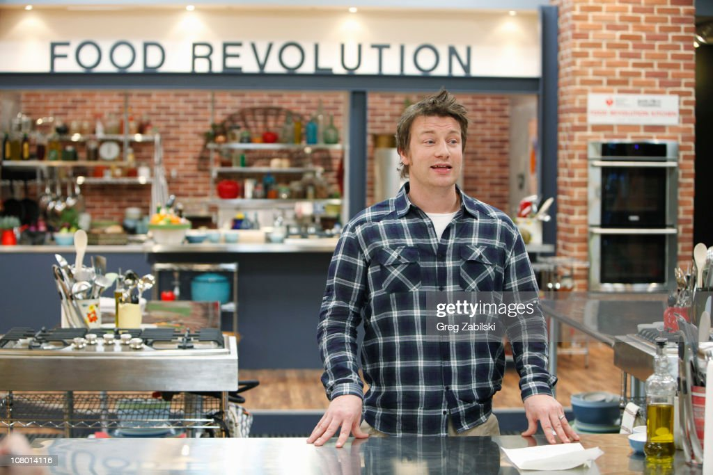 S FOOD REVOLUTION - Jamie Oliver, celebrity chef, best-selling author and food activist, is an Emmy-Award winning television producer and star of 'Jamie Oliver's Food Revolution.' In the past five years he has been on a mission to get people healthier by cooking with fresh foods. His 'Feed Me Better' campaign in the United Kingdom led the British government to add $1 billion into the school food budget and more recently, his 'Food Revolution' campaign in the United States helped pass the 'Healthy Hunger Free Kids Act' of 2010. 'Jamie Oliver's Food Revolution' will air on the ABC Television Network.