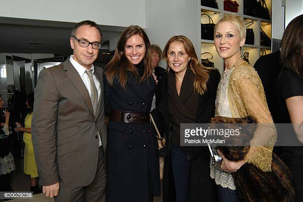 Jamie Pallot Elissa Lumley Joanna Jagoda and Carrie Cloud attend VALENTINO and VOGUE host a holiday Fete Supported by the American Museum of Natural...