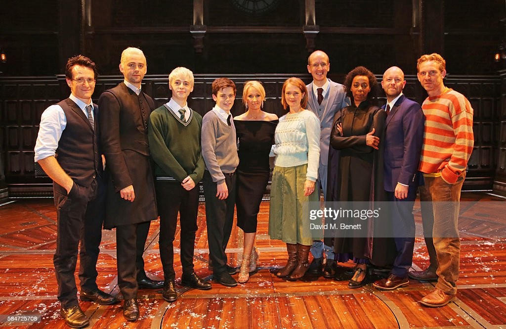 """""""Harry Potter & The Cursed Child"""" - Press Preview - Backstage : News Photo"""