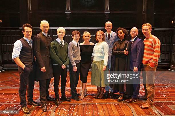 Jamie Parker Alex Price Anthony Boyle Sam Clemmett JK Rowling Poppy Miller Jack Thorne Noma Dumezweni director John Tiffany and Paul Thornley attends...