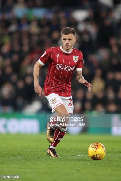 Jamie Paterson of Bristol City during the Sky Bet Championship match between Derby County and Bristol City at iPro Stadium on January 19 2018 in...