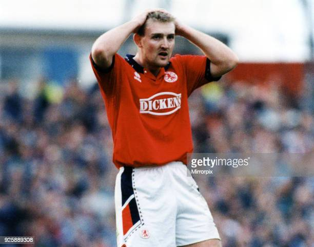 Jamie Pollock, Middlesbrough FC v Tranmere, 8th October 1994.