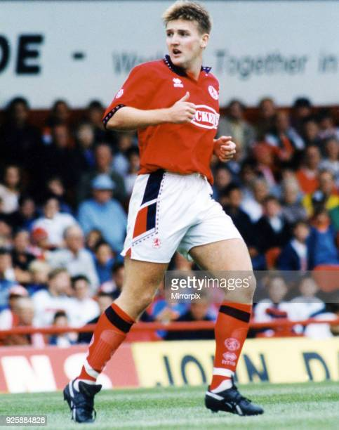 Jamie Pollock of Middlesbrough FC Boro v Hearts 8th August 1994