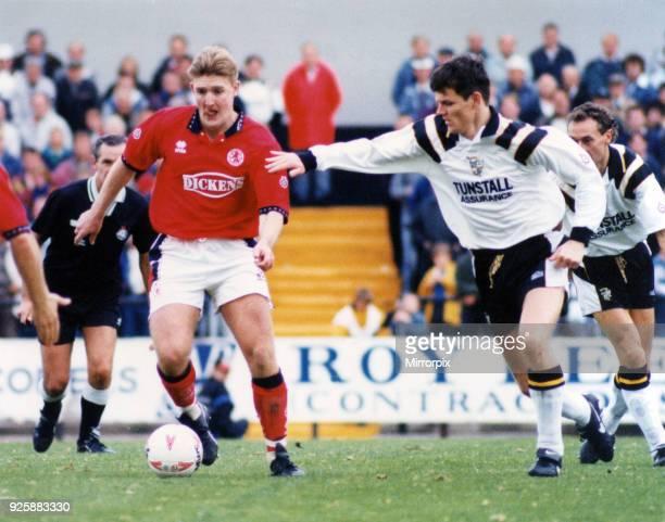 Jamie Pollock Port Vale v Middlesbrough FC 17th September 1994
