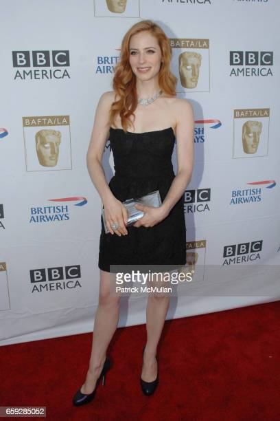 Jamie Ray Newman attends BAFTA/LA HOSTS SEVENTH ANNUAL TV TEA PARTY at InterContinental Hotel on September 19 2009 in Century City California