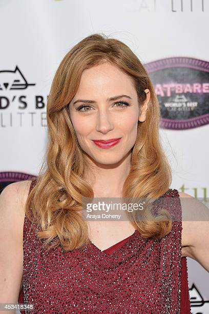 Jamie Ray Newman attends the A CATbaret A One Night Only Celebrity Musical Celebration of the Alluring Feline at The Belasco Theater on August 9 2014...