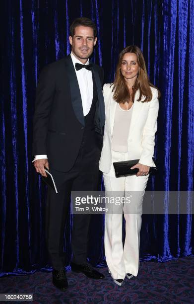Jamie Redknapp and Louise Redknapp attend the Retail Trust London Ball at Grosvenor House on January 28 2013 in London England