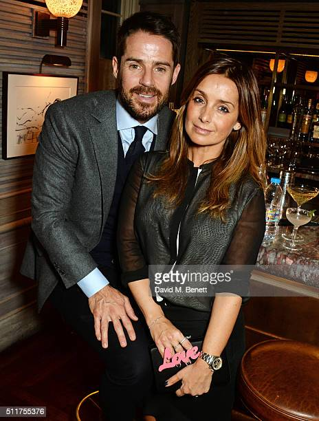 Jamie Redknapp and Louise Redknapp attends the launch of Tracey Emin and Stephen Webster's new jewellery collection 'I Promise To Love You' at 34...