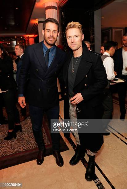 Jamie Redknapp and Ronan Keating attend the launch Party of The Biltmore Mayfair LXR Hotels Resorts and The Betterment by Jason Atherton on November...