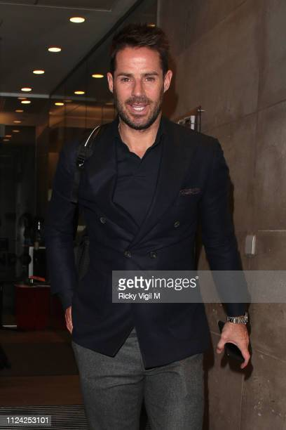 Jamie Redknapp at The One Show on January 23 2019 in London England