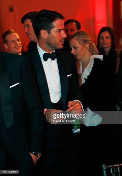 Jamie Redknapp attends The Charge II boxing fundraiser at The Lindley Hall on December 13 2017 in London England