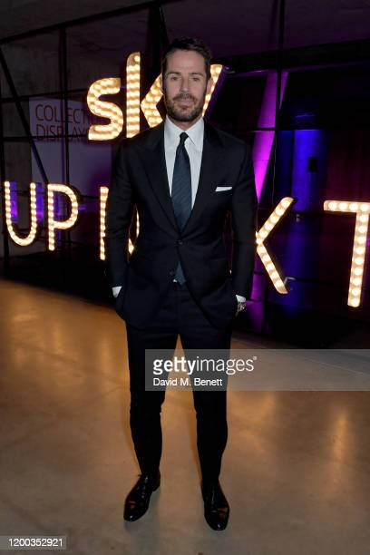 Jamie Redknapp attends the Sky TV Up Next Event at Tate Modern on February 12 2020 in London England Up Next is Skys inaugural showcase event to...