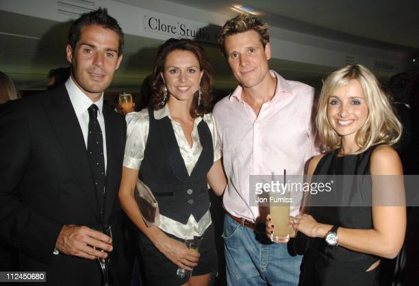 Jamie Redknapp Beverley Turner James Cracknell and Louise Redknapp