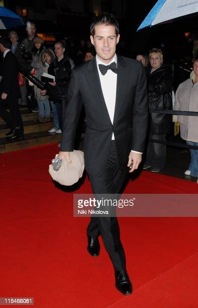 Jamie Redknapp during 2006 Emeralds and Ivy Ball in Celebration of Cancer Research at The Roundhouse in London Great Britain