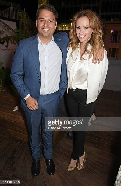 Jamie Reuben and Camilla Al Fayed attend the opening of the Lyric Hammersmith's Reuben Foundation Wing and Bugsy Malone at the Lyric Hammersmith on...