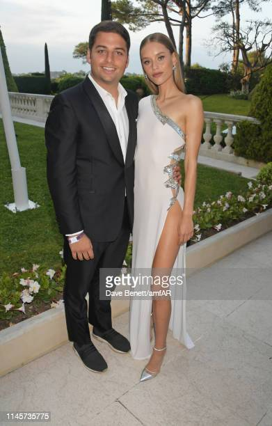 Jamie Reuben and Chase Carter attend the amfAR Cannes Gala 2019 at Hotel du CapEdenRoc on May 23 2019 in Cap d'Antibes France