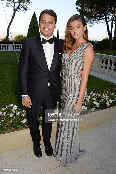 Jamie Reuben and guest attend amfAR's 23rd Cinema Against AIDS Gala at Hotel du CapEdenRoc on May 19 2016 in Cap d'Antibes France