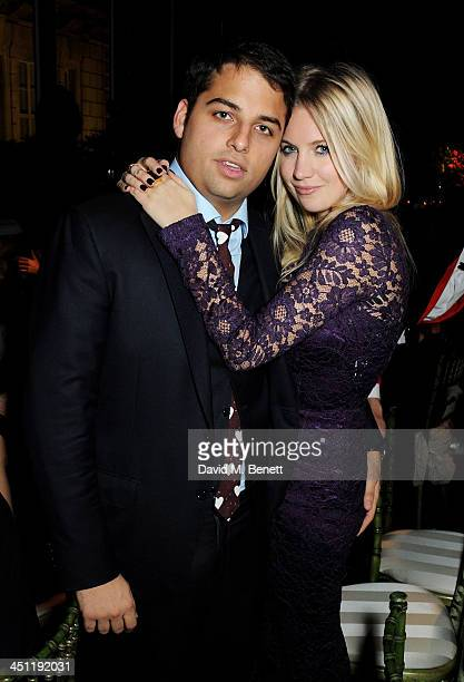 Jamie Reuben and Marissa Montgomery attend the Adventure in Wonderland Ball held by The Reuben Foundation in aid of Great Ormond Street Hospital...