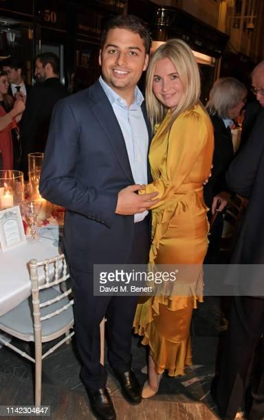 Jamie Reuben and Marissa Montgomery attend the Burlington Arcade 200th anniversary dinner at Burlington Arcade on May 8 2019 in London England