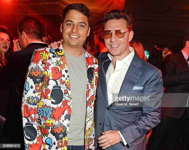 Jamie Reuben and Nick Candy attend a Studio 54 party hosted by Jess Imerman at The Dorchester on May 7 2016 in London England