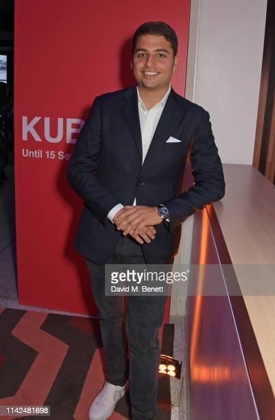 Jamie Reuben attends a private view of Stanley Kubrick The Exhibition at The Design Museum on May 9 2019 in London England