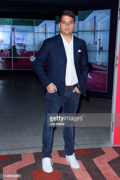 Jamie Reuben attends a VIP dinner as part of the Stanley Kubrick The Exhibition at The Design Museum on May 09 2019 in London England